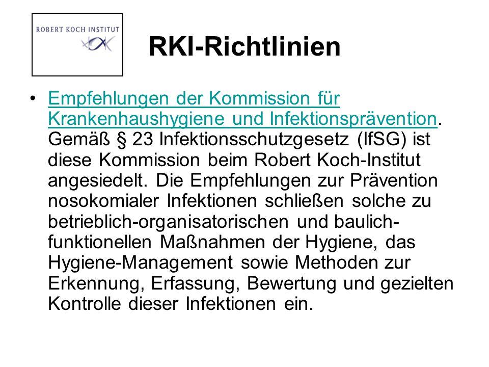 RKI-Richtlinien