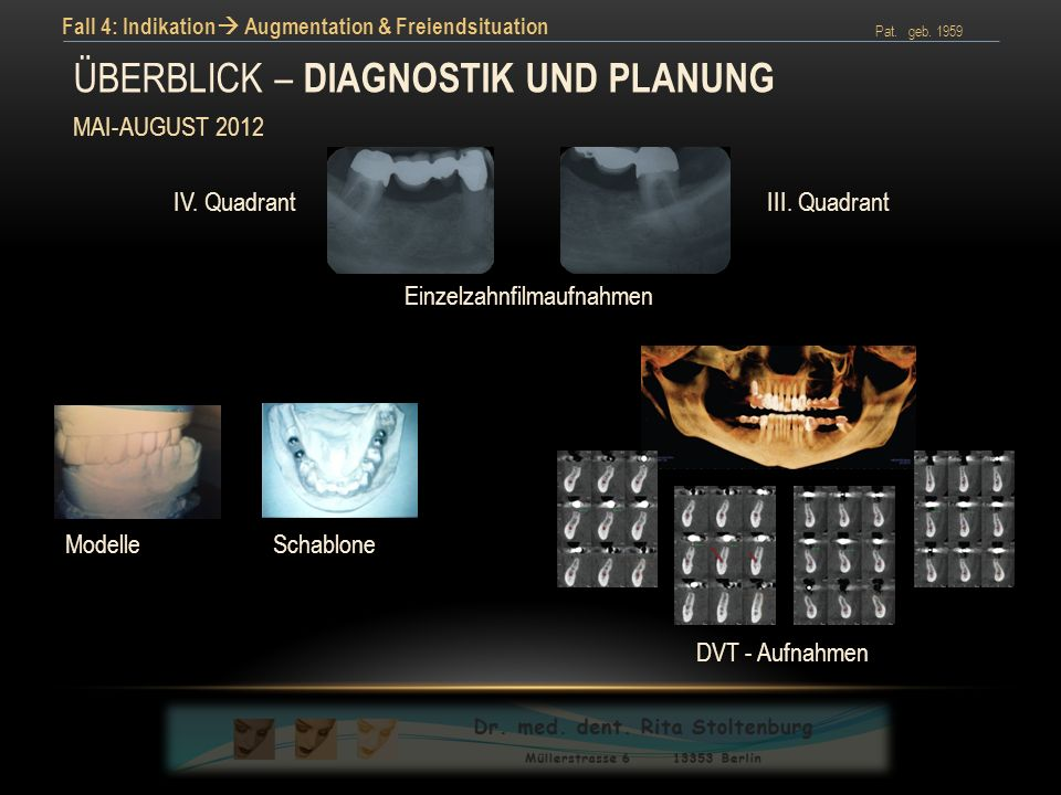 Überblick – präoperative diagnostik