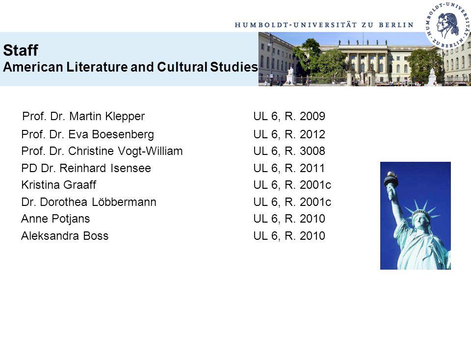 Prof. Dr. Martin Klepper UL 6, R. 2009
