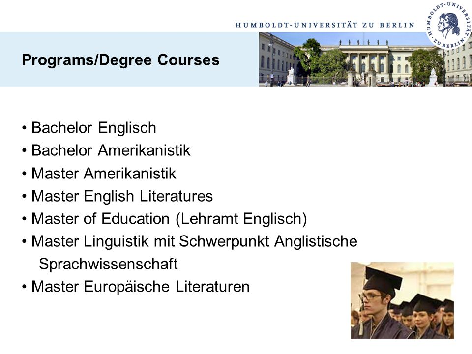 Programs/Degree Courses