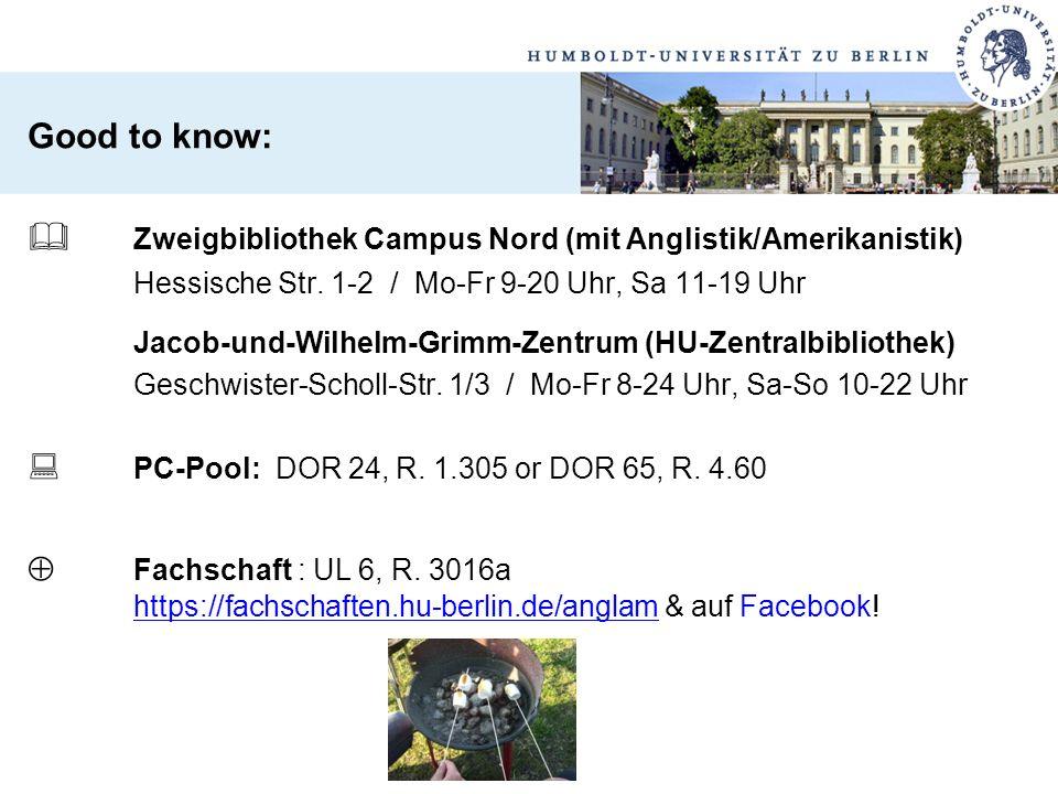  Zweigbibliothek Campus Nord (mit Anglistik/Amerikanistik)