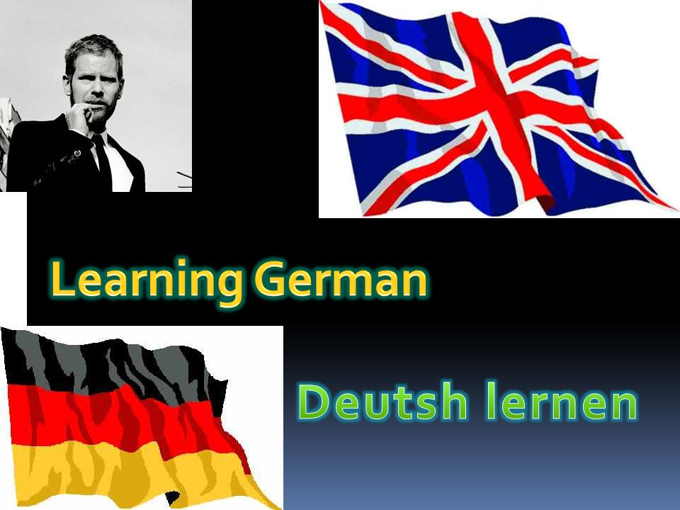 Learning German Deutsh lernen