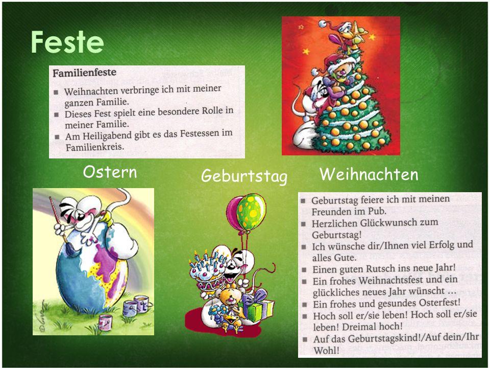 Feste Ostern Geburtstag Weihnachten Familie und Gesellschaftsleben