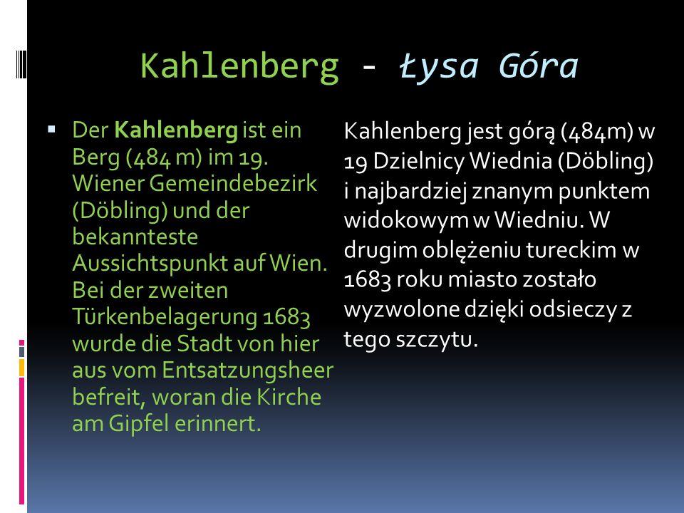 Kahlenberg - Łysa Góra