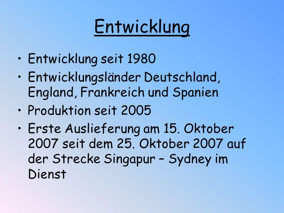 Entwicklung Entwicklung seit 1980