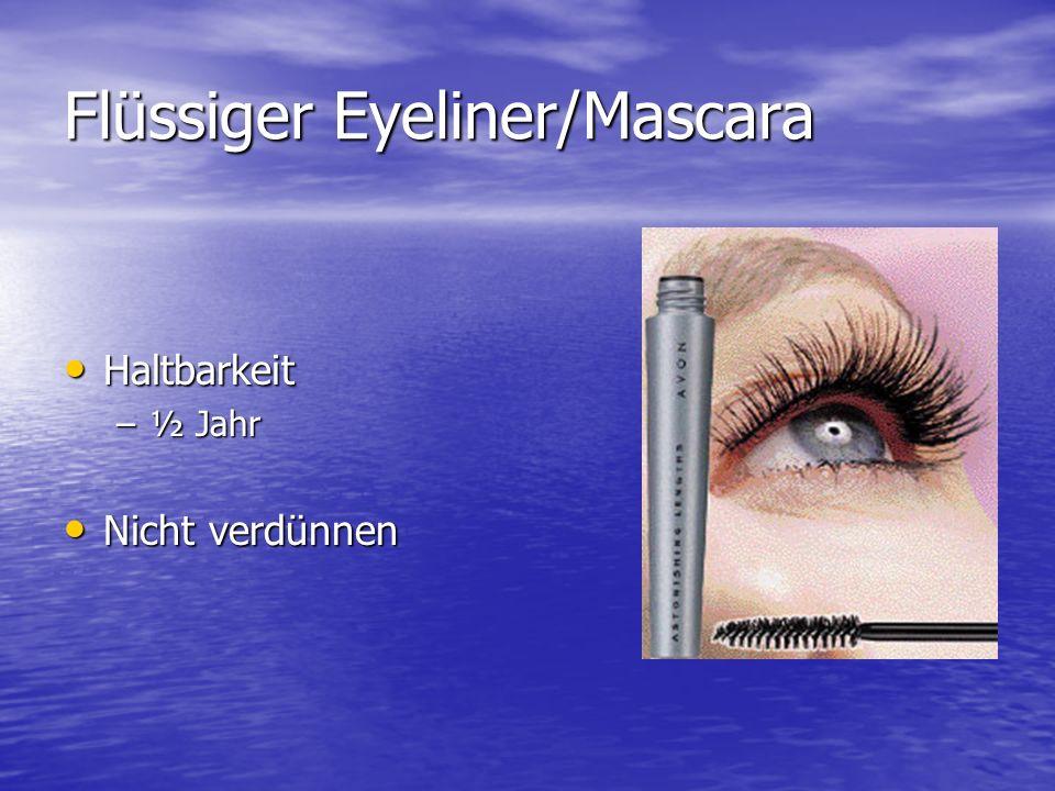 Flüssiger Eyeliner/Mascara