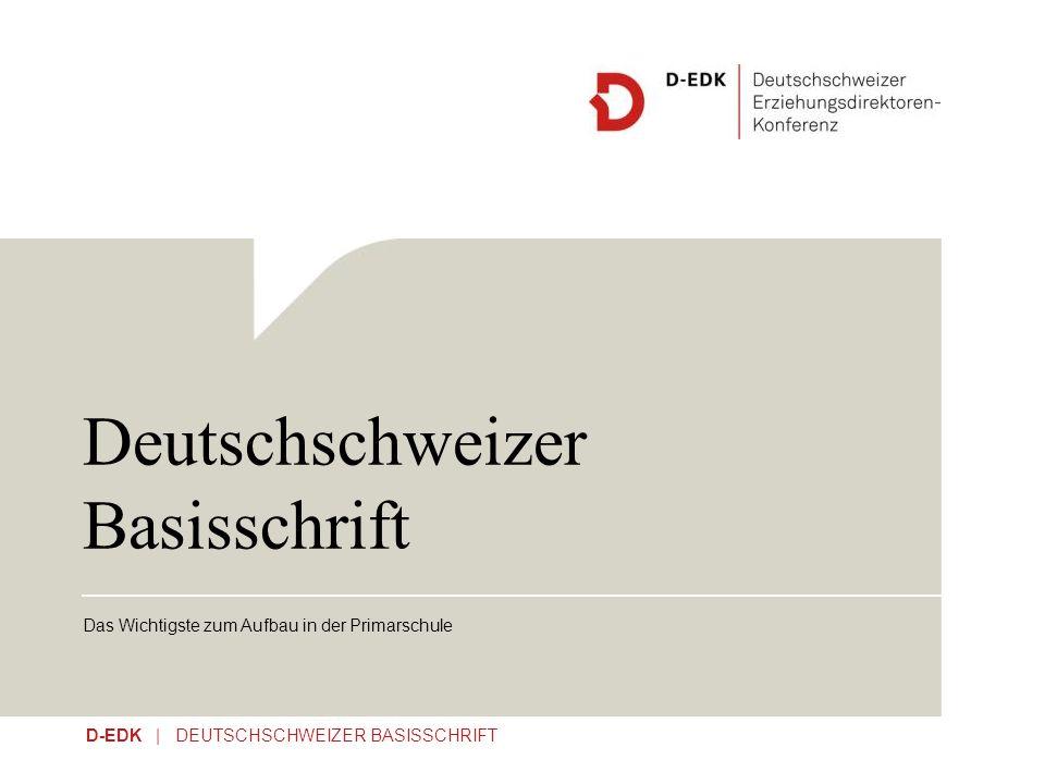 Deutschschweizer Basisschrift