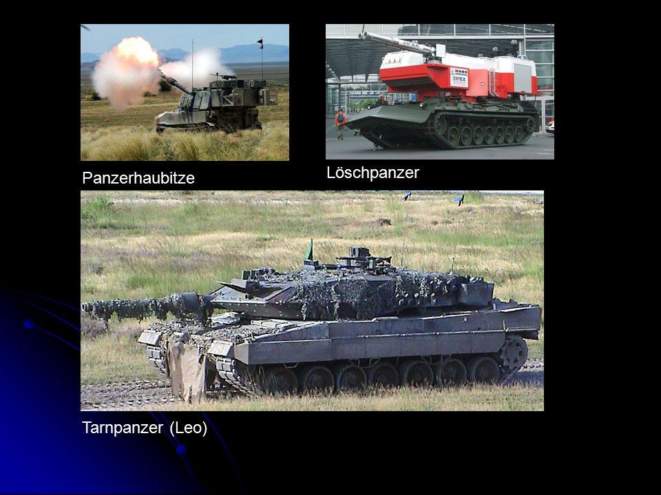 Löschpanzer Panzerhaubitze Tarnpanzer (Leo)