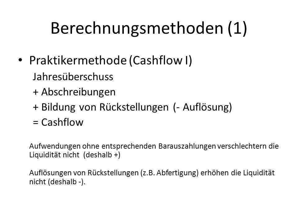 Berechnungsmethoden (1)