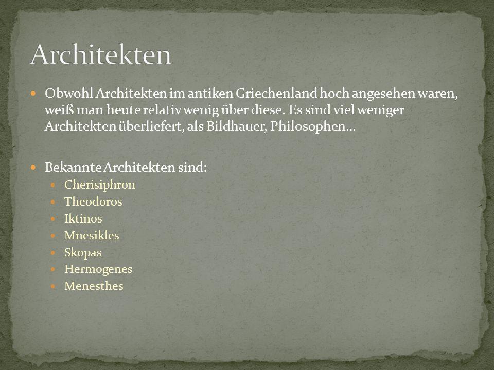 Die griechische architektur in der antike ppt herunterladen - Bekannte architekten ...