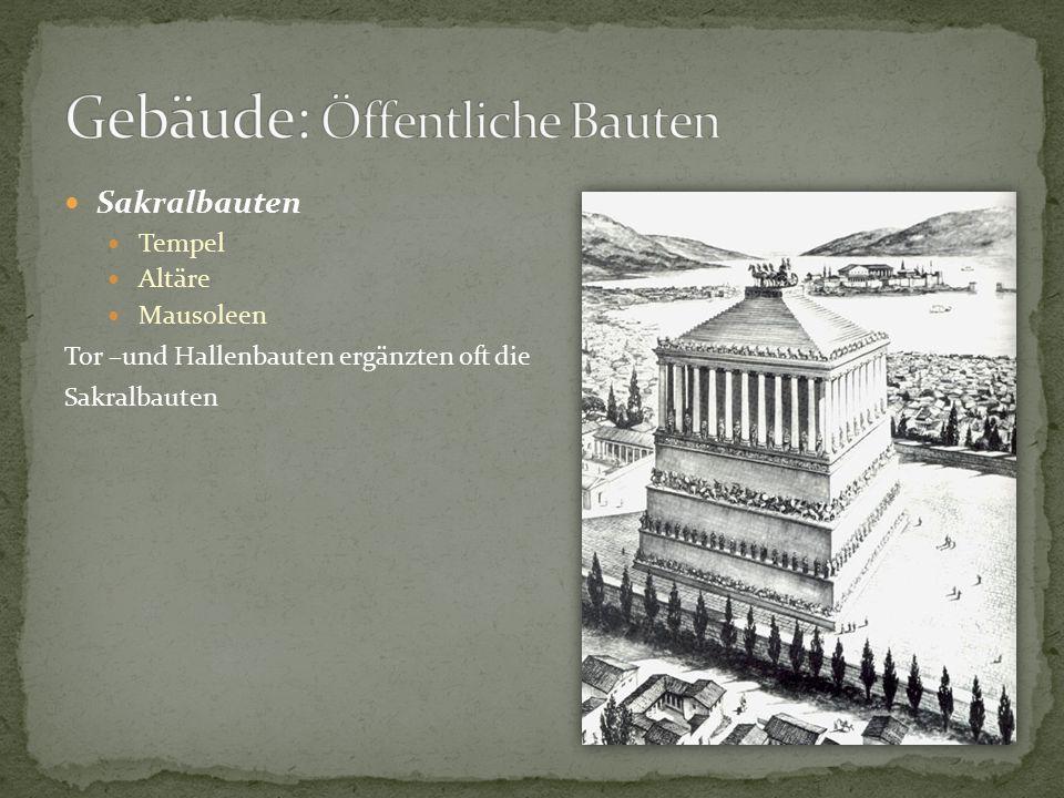 Gebäude: Öffentliche Bauten