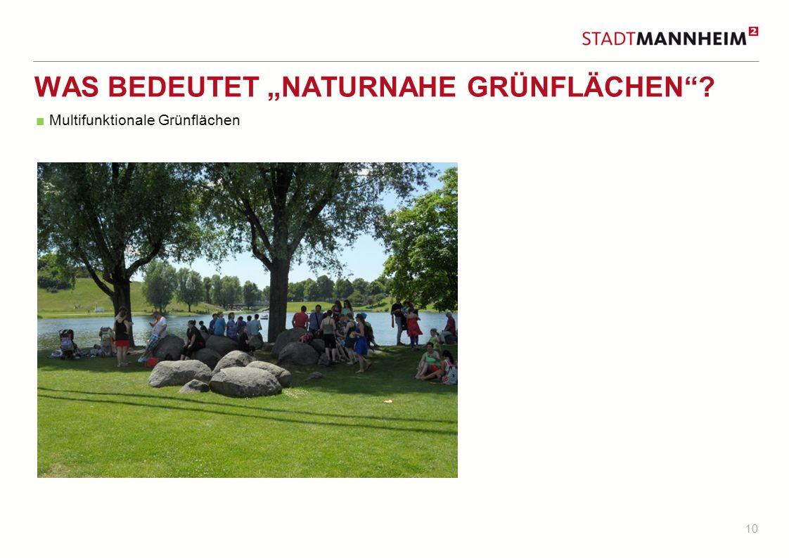 """Was bedeutet """"Naturnahe Grünflächen"""