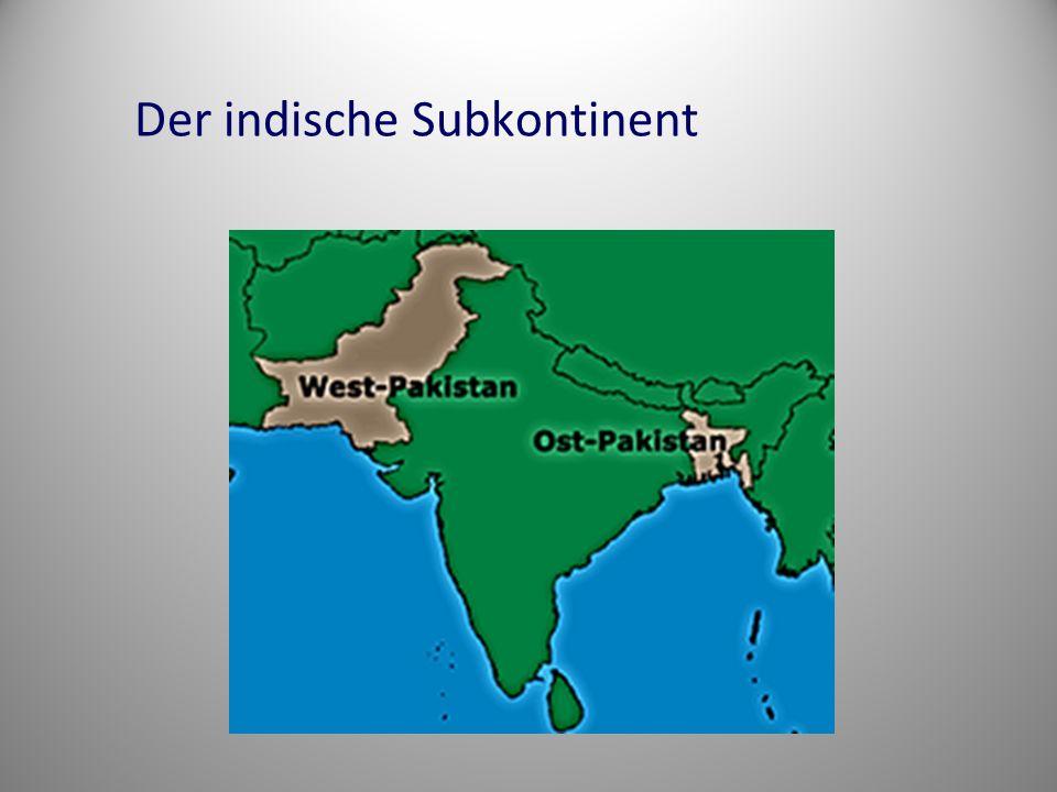 Der indische Subkontinent