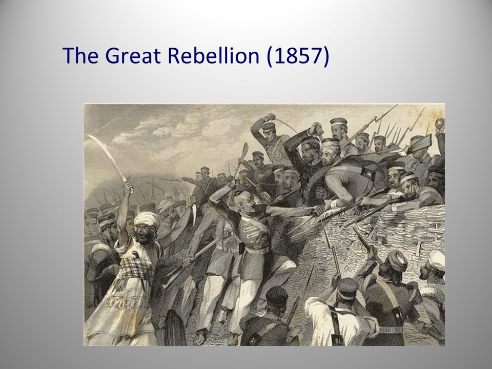 The Great Rebellion (1857)