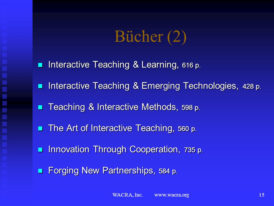 Bücher (2) Interactive Teaching & Learning, 616 p.