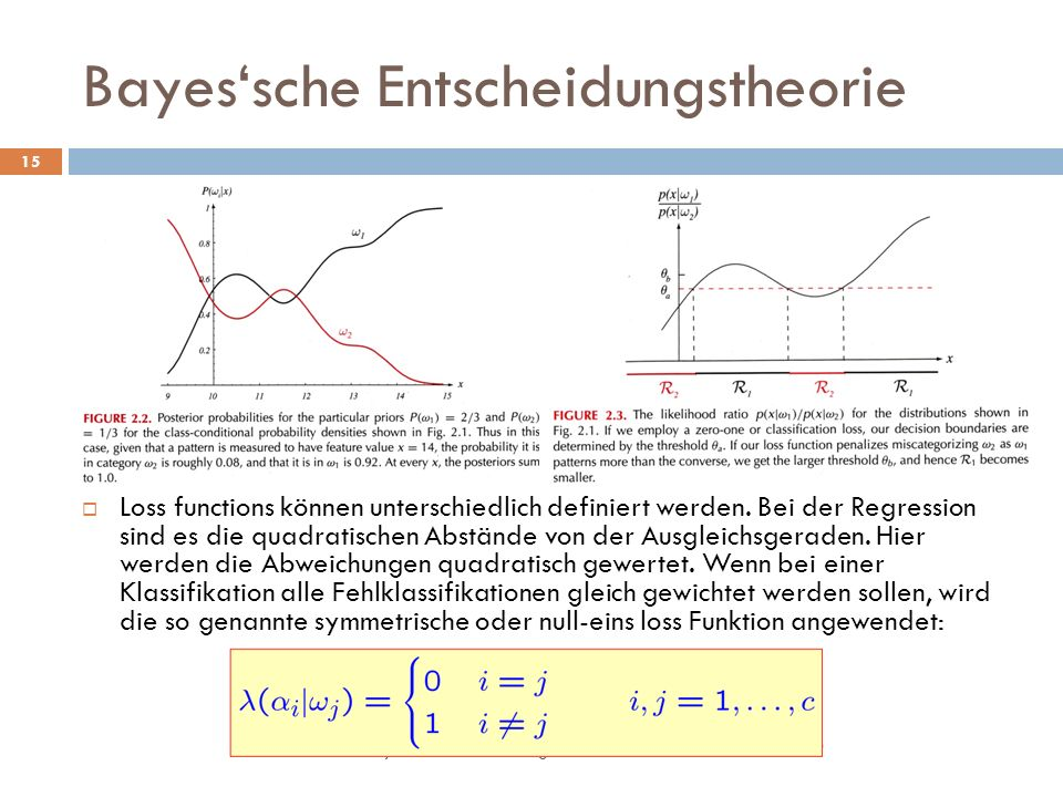 Bayes'sche Entscheidungstheorie