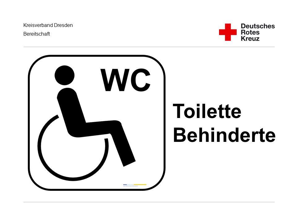 Toilette Behinderte Handlungsempfehlungen für RD/KatS bei Terroranschlägen