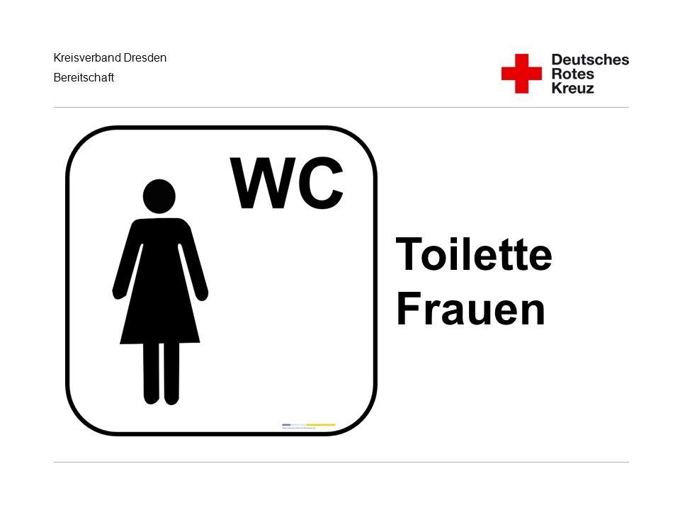Toilette Frauen Handlungsempfehlungen für RD/KatS bei Terroranschlägen