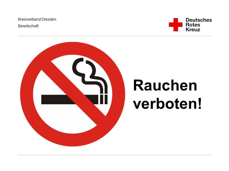 Rauchen verboten! Handlungsempfehlungen für RD/KatS bei Terroranschlägen
