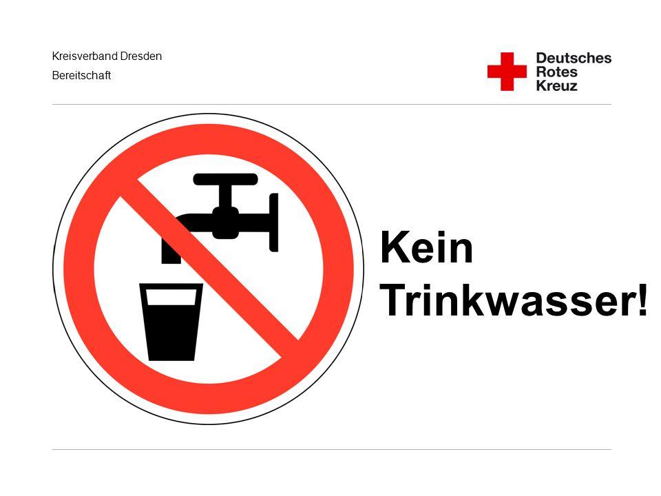 Kein Trinkwasser! Handlungsempfehlungen für RD/KatS bei Terroranschlägen