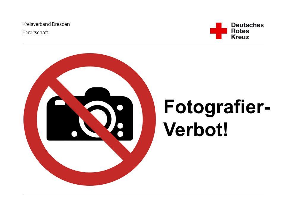 Fotografier- Verbot! Handlungsempfehlungen für RD/KatS bei Terroranschlägen