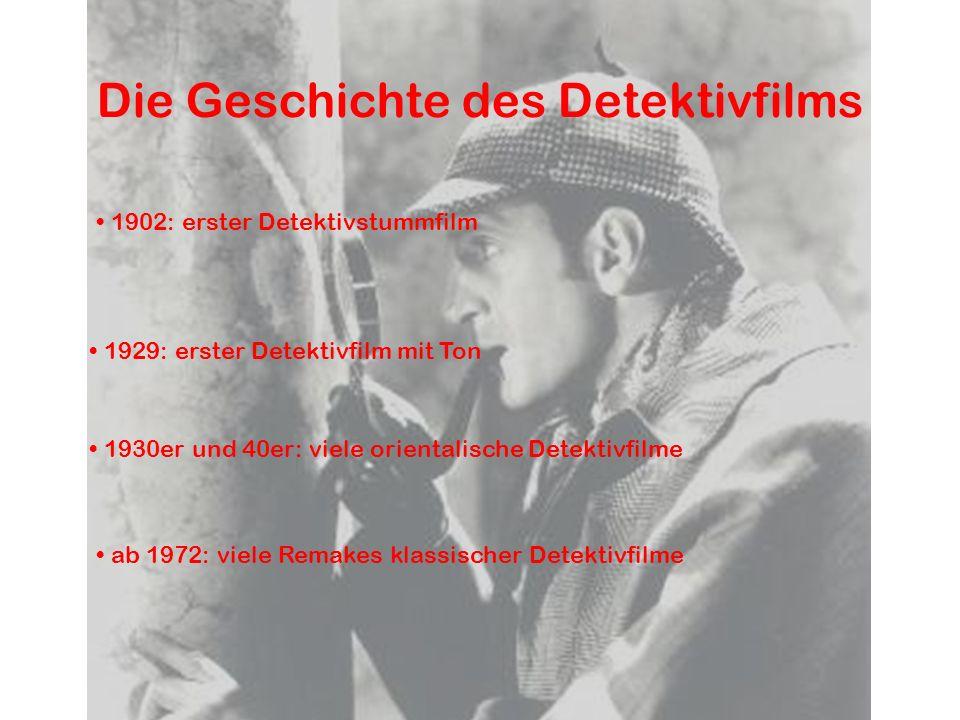 Die Geschichte des Detektivfilms