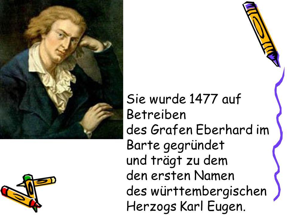 Sie wurde 1477 auf Betreiben