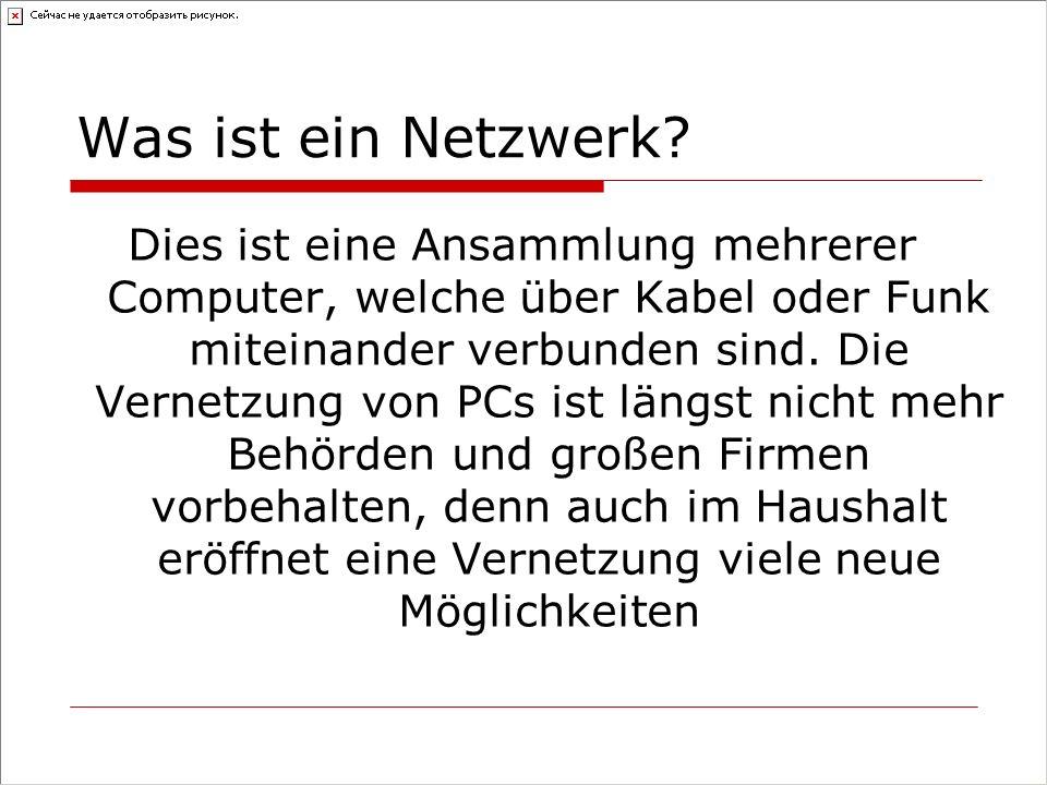 Was ist ein Netzwerk