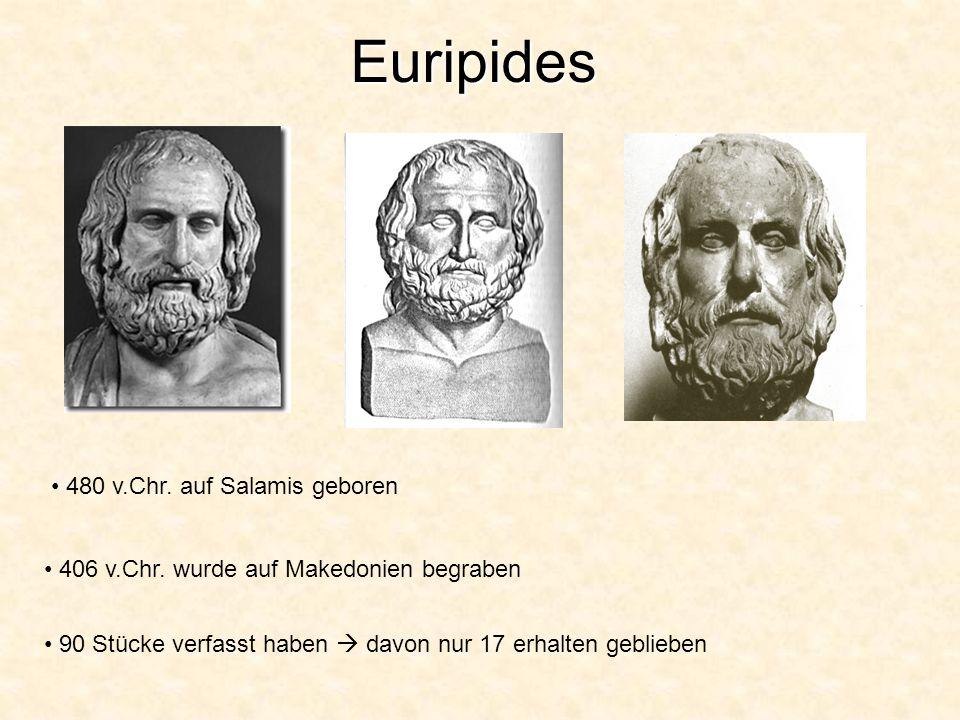 Euripides 480 v.Chr. auf Salamis geboren
