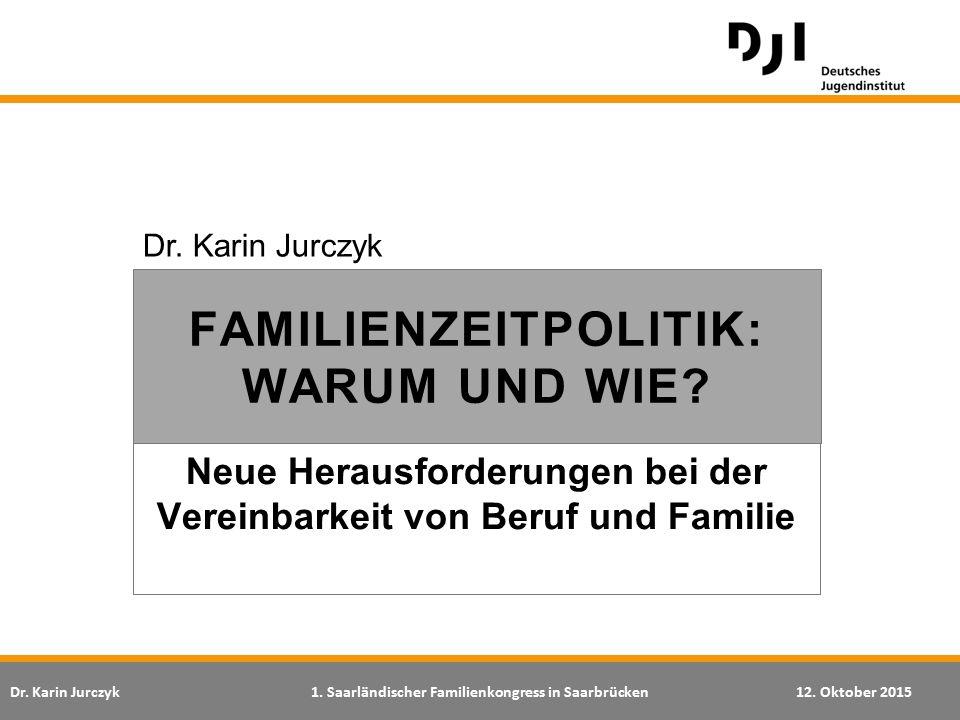 Neue Herausforderungen bei der Vereinbarkeit von Beruf und Familie