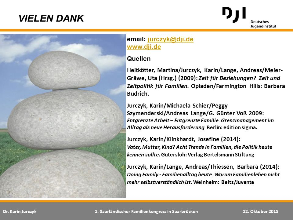VIELEN DANK email: jurczyk@dji.de www.dji.de. Quellen.