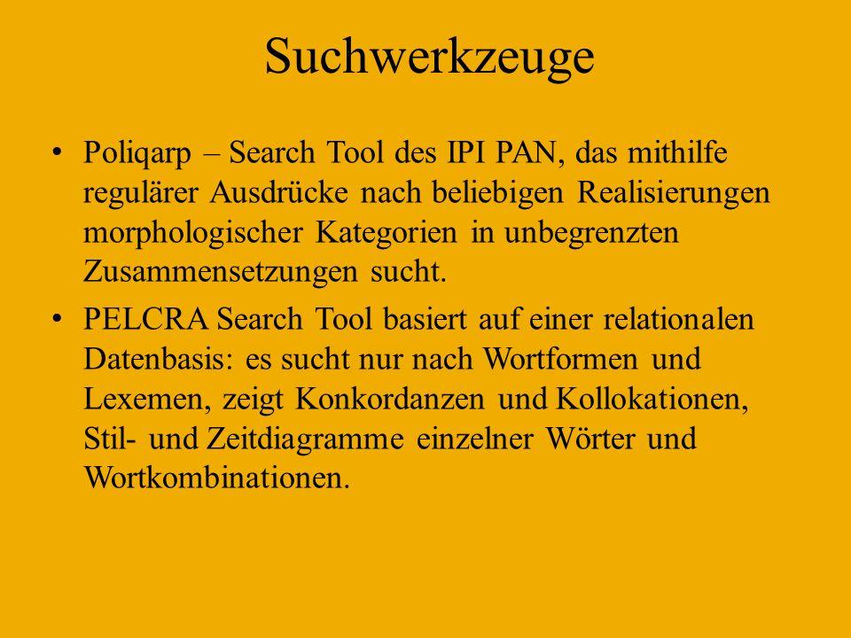 Suchwerkzeuge
