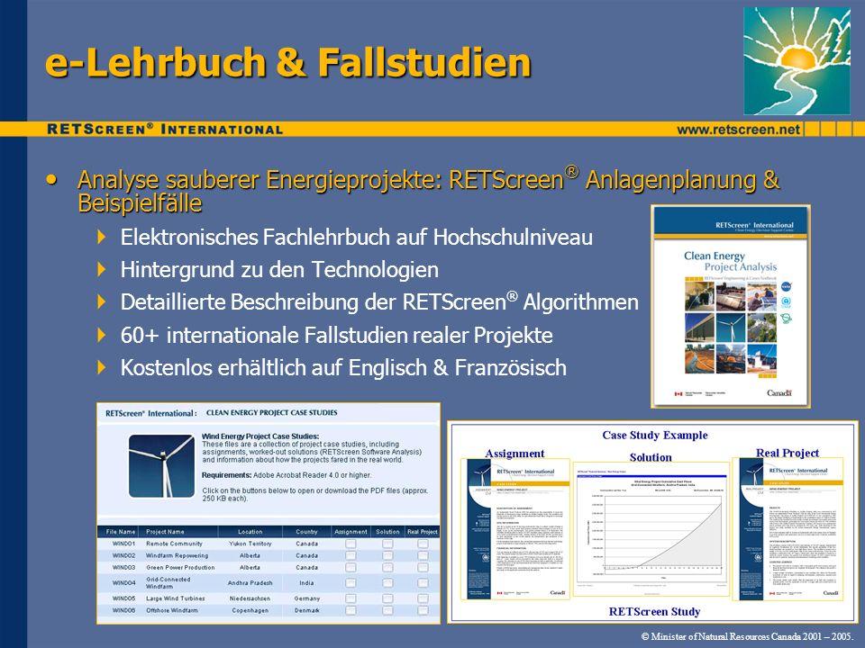 e-Lehrbuch & Fallstudien