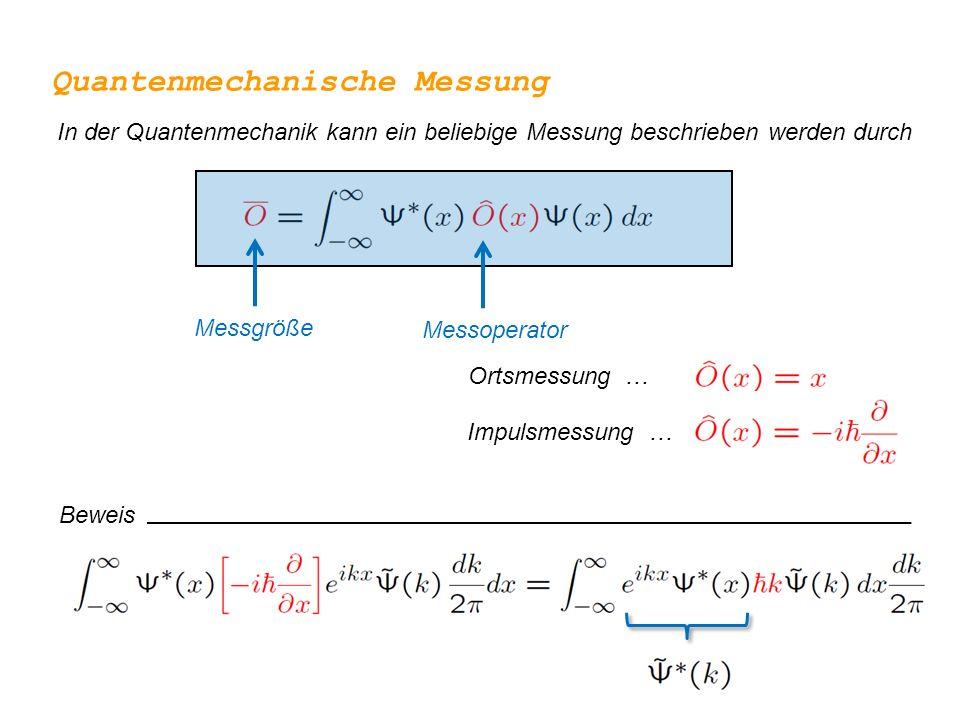 Quantenmechanische Messung