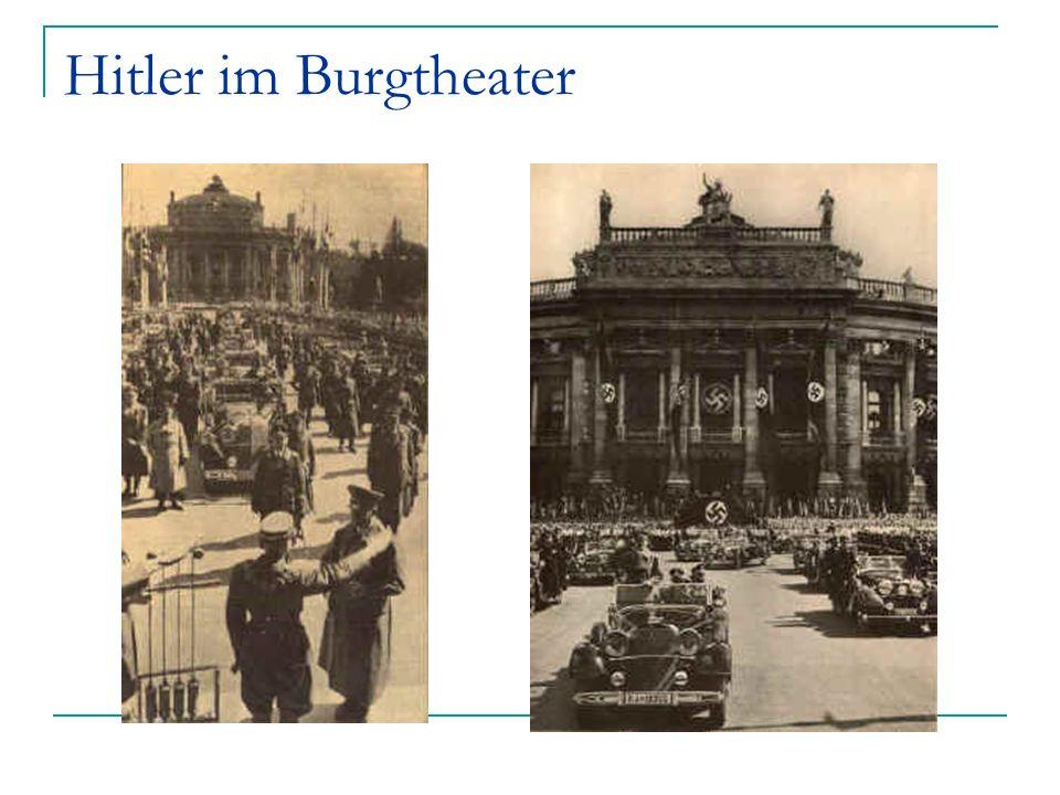 Hitler im Burgtheater