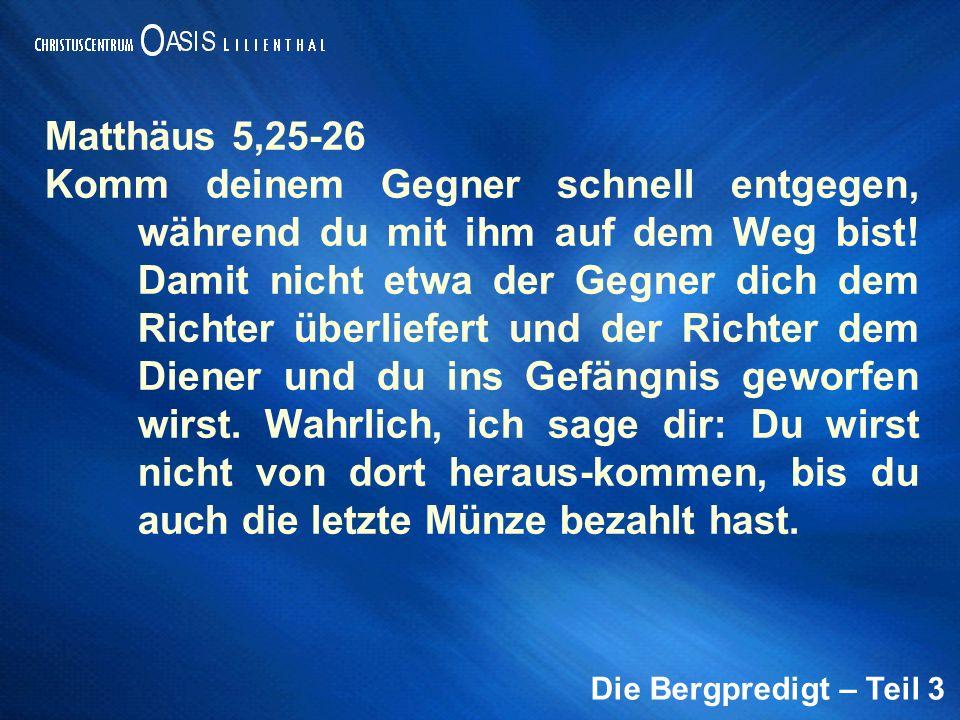 Matthäus 5,25-26