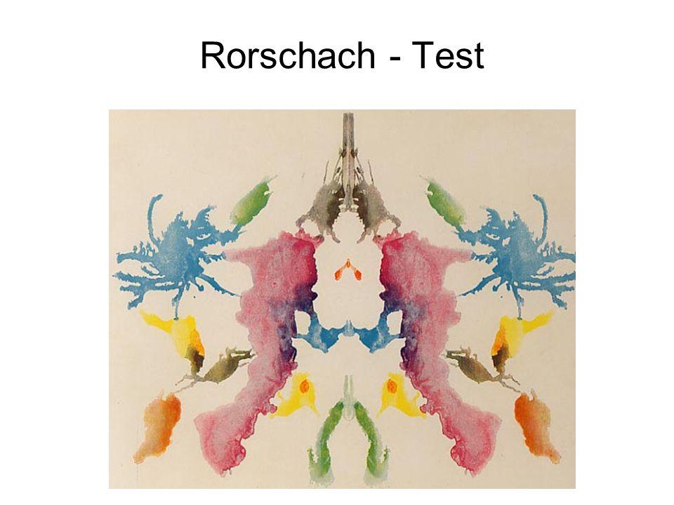 Rorschach - Test