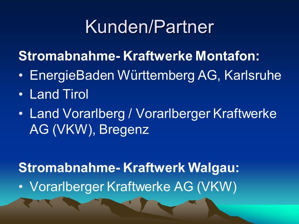 Kunden/Partner Stromabnahme- Kraftwerke Montafon: