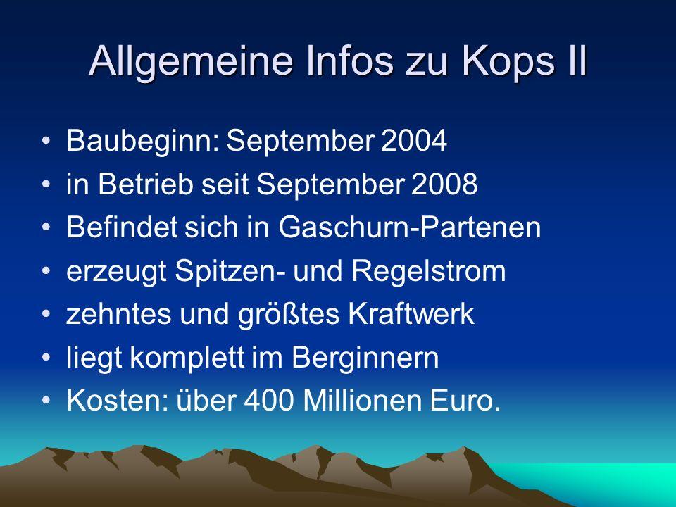 Allgemeine Infos zu Kops II