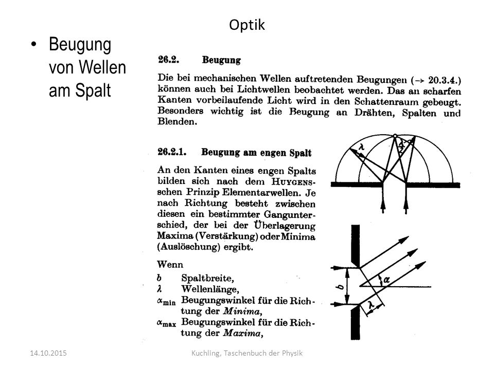 Kuchling, Taschenbuch der Physik