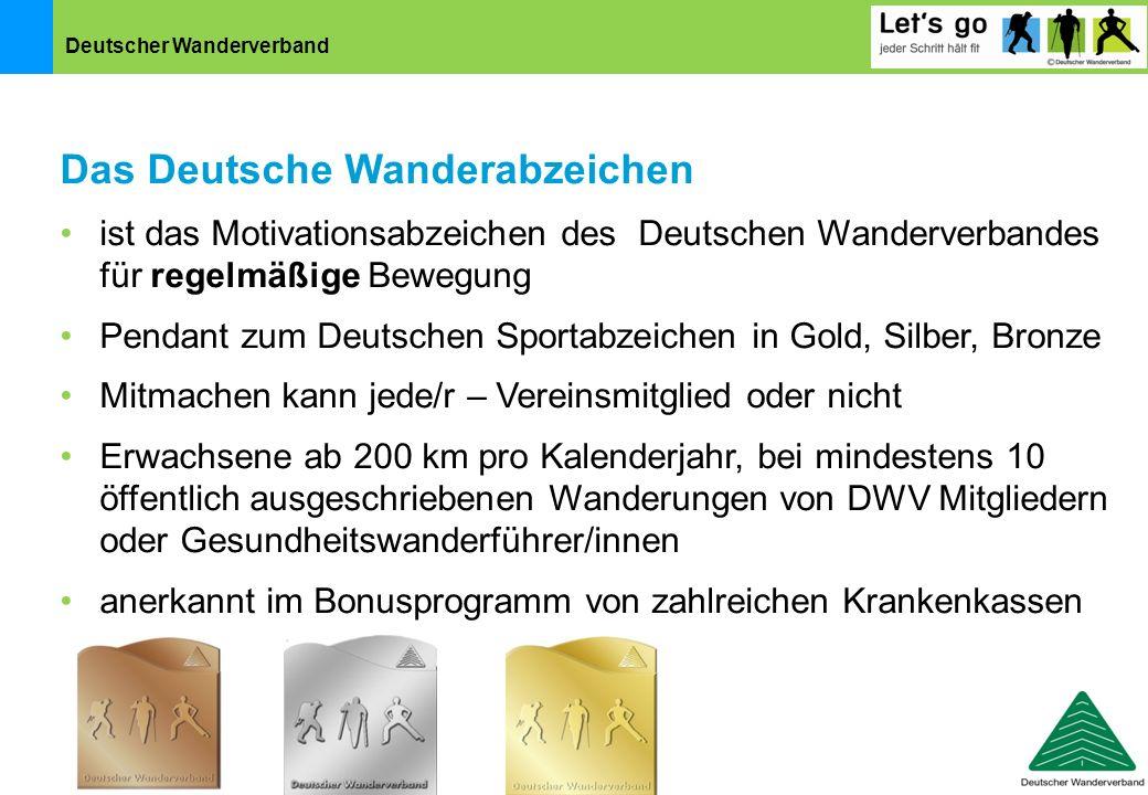 Das Deutsche Wanderabzeichen