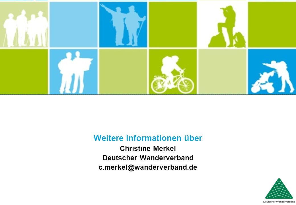 Weitere Informationen über Deutscher Wanderverband