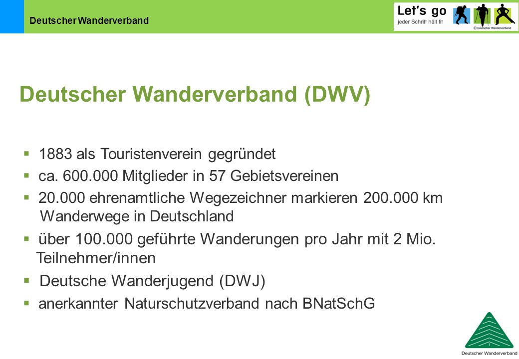 Deutscher Wanderverband (DWV)
