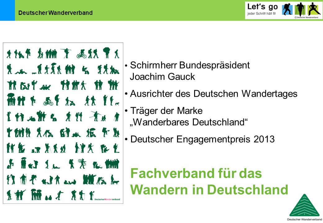 Fachverband für das Wandern in Deutschland