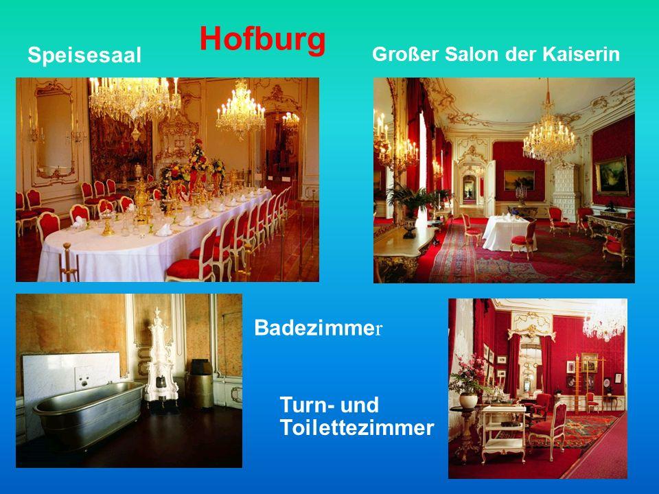 Hofburg Speisesaal Badezimmer Turn- und Toilettezimmer
