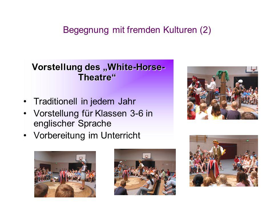 """Vorstellung des """"White-Horse-Theatre"""