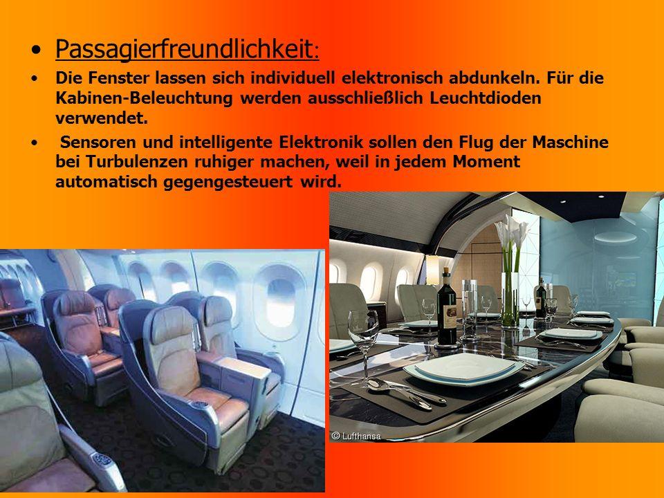 Passagierfreundlichkeit:
