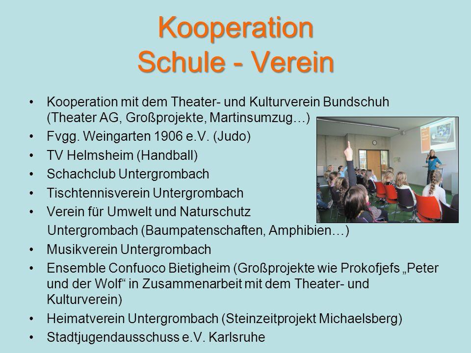 Kooperation Schule - Verein