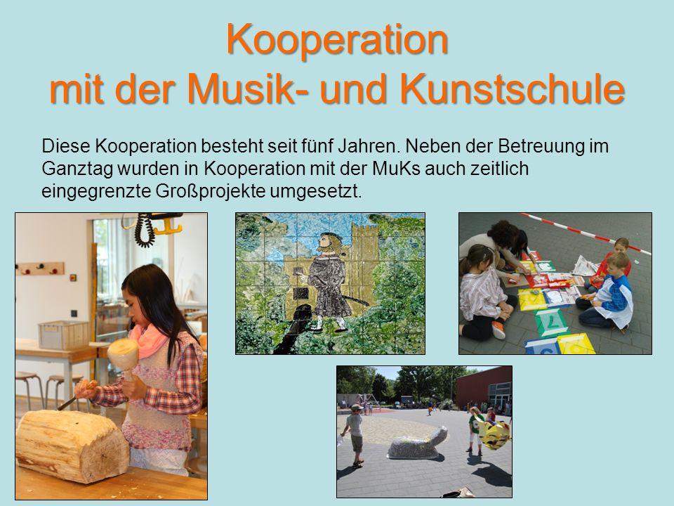 Kooperation mit der Musik- und Kunstschule