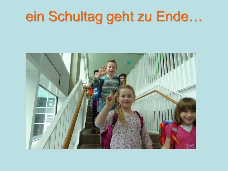 ein Schultag geht zu Ende…